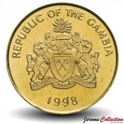 GAMBIE - PIECE de 10 Bututs - 1998