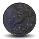 ILE DE MAN - PIECE de 2 Pence - Crave à bec rouge - 1981