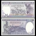 RWANDA - Billet de 100 Francs - Récolte de thé - 01.02.2008