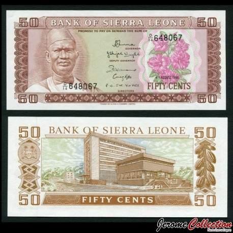 SIERRA LEONE - Billet de 50 Leones - 04.08.1984