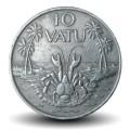 VANUATU - PIECE de 10 Vatu - Crabe de cocotier - 1983