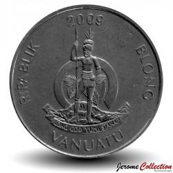 VANUATU - PIECE de 50 Vatu - Tubercules d'igname - 2009