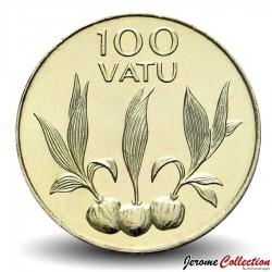 VANUATU - PIECE de 100 Vatu - Noix de coco en germe- 2008 Km#9