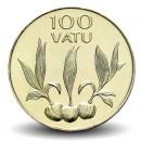 VANUATU - PIECE de 100 Vatu - Noix de coco en germe- 2008
