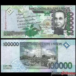 SAO TOMÉ-ET-PRINCIPE - Billet de 100000 Dobras - 31.12.2013 P69c