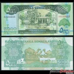 SOMALILAND - Billet de 5000 Shillings - 2011 P21a