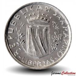 SAINT-MARIN - PIECE de 10 Lires - 1981