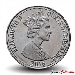 GIBRALTAR - PIECE de 10 Pence - Perdrix gambra  - 2016
