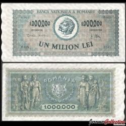 ROUMANIE - Billet de 1000000 Lei - 1947 P60a