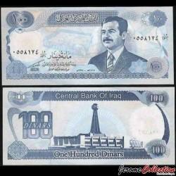 IRAK - Billet de 100 Dinars - 1994