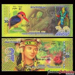 TERRITOIRES EQUATORIAUX - Billet de 20 Francs Equatoriaux- 2014