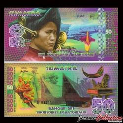 TERRITOIRES EQUATORIAUX - Billet de 50 Francs Equatoriaux- 2014