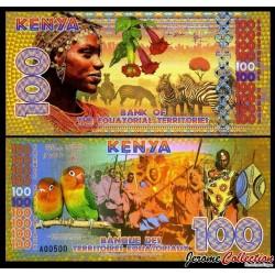 TERRITOIRES EQUATORIAUX - Billet de 100 Francs Equatoriaux- 2015