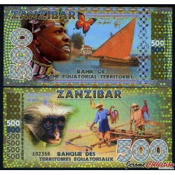 TERRITOIRES EQUATORIAUX - Billet de 500 Francs Equatoriaux- 2015