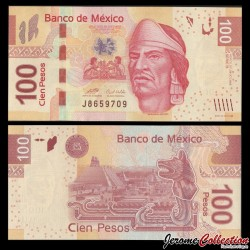 MEXIQUE - Billet de 100 Pesos - 29.10.2008