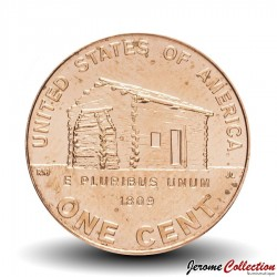 "ETATS UNIS / USA - PIECE de 1 Cent - 1 cent ""Lincoln Penny"" - 2009 - D"
