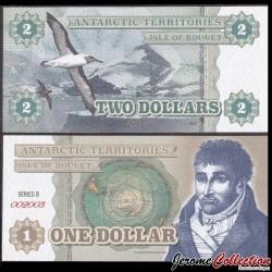 BOUVET ISLAND - Billet de 2 DOLLARS - 2014 00012