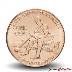 "ETATS UNIS / USA - PIECE de 1 Cent - 1 cent ""Lincoln Penny"" - 2009"