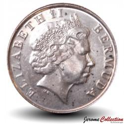 BERMUDES - PIECE de 1 Cent - Petit Sanglier - 2009
