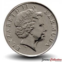 BERMUDES - PIECE de 10 Cents - Lys - 2008