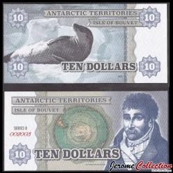 BOUVET ISLAND - Billet de 10 DOLLARS - 2014