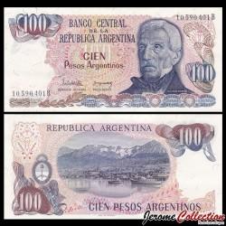 ARGENTINE - Billet de 100 Pesos - 1983 P315a1
