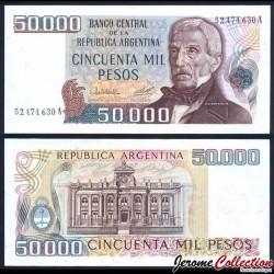 ARGENTINE - Billet de 50000 Pesos - 1979 P307a1