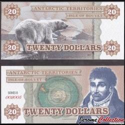 BOUVET ISLAND - Billet de 20 DOLLARS - 2014 0020