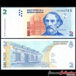 ARGENTINE - Billet de 2 Pesos - 2006 / 2007 P352a4