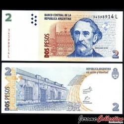 ARGENTINE - Billet de 2 Pesos - 2013 / 2014 P352a6