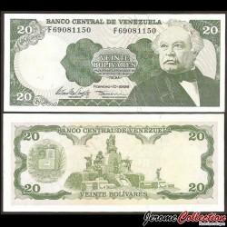 VENEZUELA - Billet de 20 Bolivares - 10.02.1998 P63f