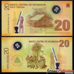 NICARAGUA - Billet de 20 Córdobas - 2007
