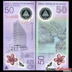 NICARAGUA - Billet de 50 Córdobas - 2010