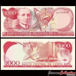 COSTA RICA - Billet de 1000 Colones - Tomás Soley Güell - 24.09.2004 P264e
