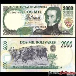 VENEZUELA - Billet de 2000 Bolivares - 10.02.1998 P77b