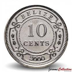 BELIZE - PIECE de 10 Cents - 2000 Km#35