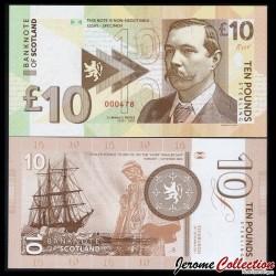 ECOSSE / BANK OF SCOTLAND - Billet de 10 Pounds - Sir Arthur Conan DOYLE - 2017