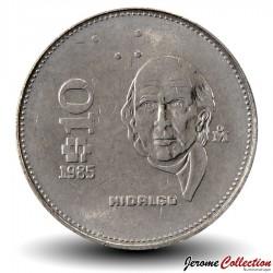 MEXIQUE - PIECE de 10 Pesos - Hidalgo - 1983 Km#512