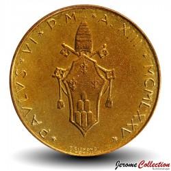 VATICAN - PIECE de 20 Lires - Cerf rouge - 1975