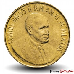 VATICAN - PIECE de 200 Lires - 1989