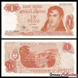 ARGENTINE - Billet de 1 Peso - 1973 P287a5