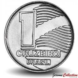 BRESIL - PIECE de 1 Cruzeiro - 1990