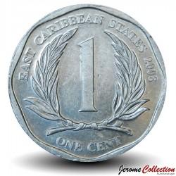 CARAIBE ORIENTALE - PIECE de 1 Cent - 2008 Km#34