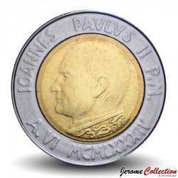 VATICAN - PIECE de 500 Lires - Année de la Paix - 1984