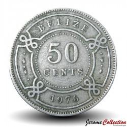 BELIZE - PIECE de 50 Cents - 1976 Km#37