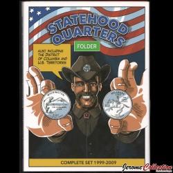 ETATS-UNIS / USA - ALBUM pour Quarters States (25 Cents) - 1999 - 2009 Statedhood_Quarters