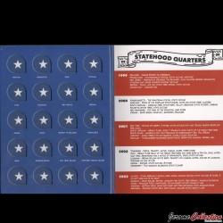 ETATS-UNIS / USA - ALBUM pour Quarters States (25 Cents) - 1999 - 2009