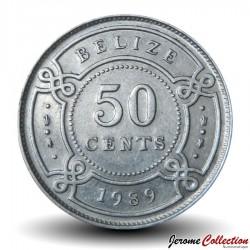 BELIZE - PIECE de 50 Cents - 1989 Km#37