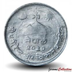 NEPAL - PIECE de 2 Paisa - Faisan lophophore de l'Himalaya - 1973 - २०३०
