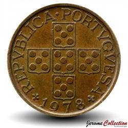 PORTUGAL - PIECE de 50 Centavos - 1978